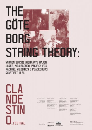 "Affisch ""The Göteborg String Theory"""