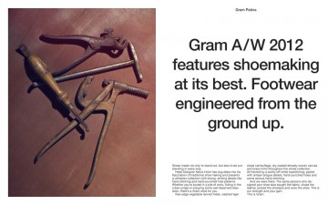 Gram AW-12 Catalogue